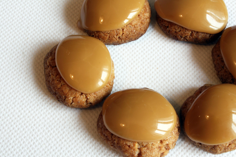 croquants caramel gingebre